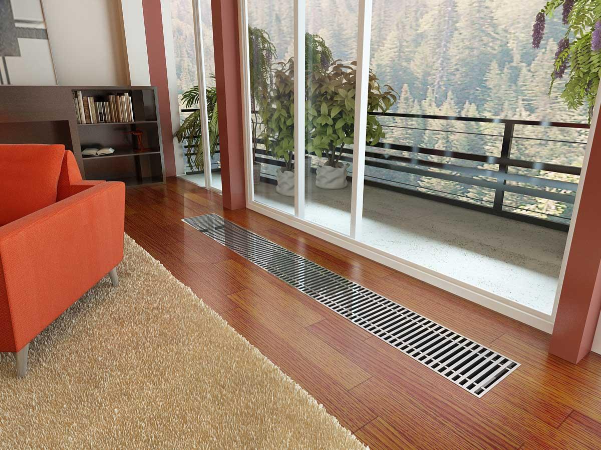 конвекторы в полу фото для возки сена